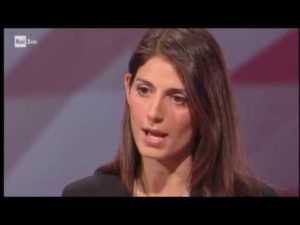 CartaBianca, Bianca Berlinguer intervista Virginia RAGGI