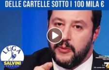 Fisco: Salvini, 'pace fiscale' per cartelle sotto 100mila euro [VIDEO]